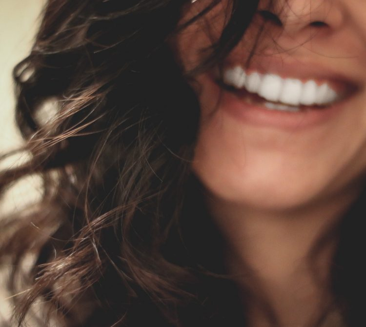 Young women's smile